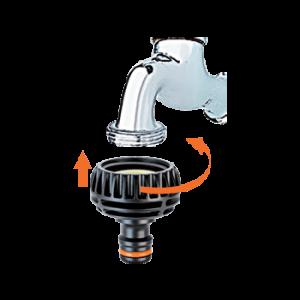 Nez de robinet 15-19-25 mm