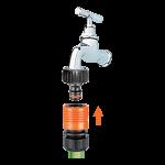 Raccord robinet png