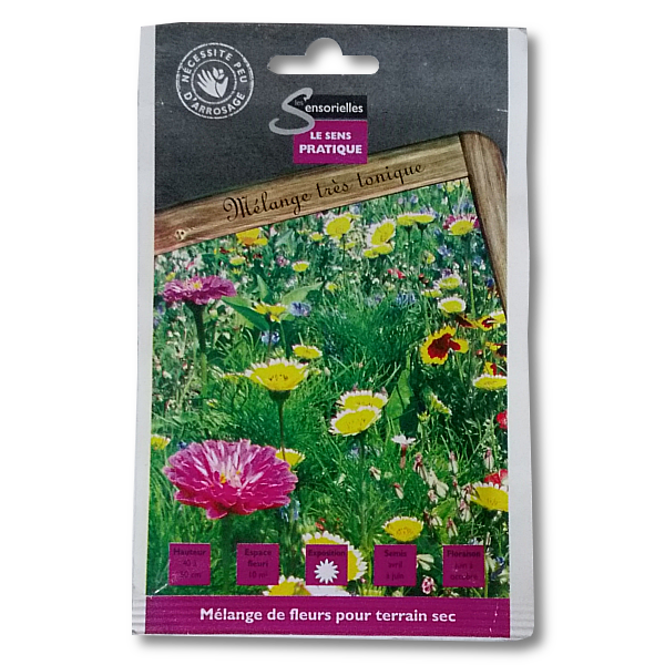 gazon fleurs terrain sec produit lbiocompost. Black Bedroom Furniture Sets. Home Design Ideas
