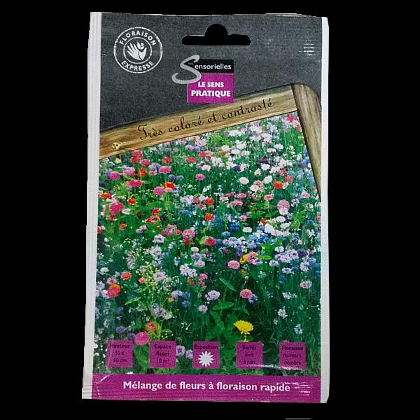 gazon fleurs floraison rapide produit lbiocompost. Black Bedroom Furniture Sets. Home Design Ideas