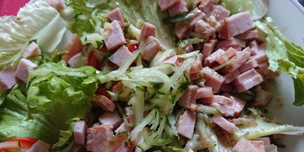 Salade courgette rapée